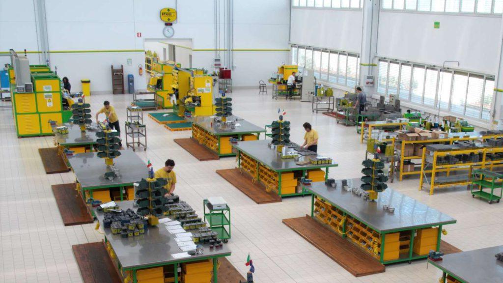 Die Produktionsanlage von Vivoil