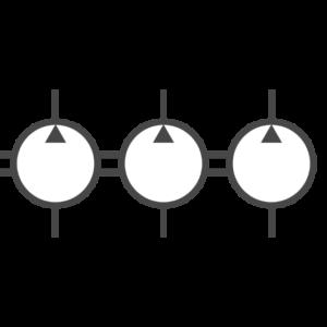 Mehrfach-Hydraulikpumpen