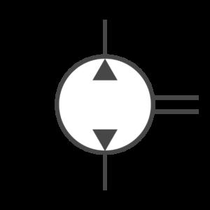 Reversible Hydraulikpumpen
