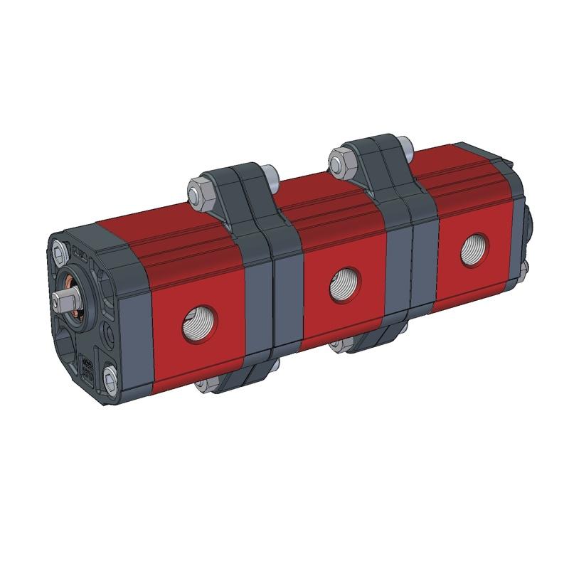 Pompa Multipla 9m012 del Gruppo 0 di Vivolo Vivoil Oleodinamica