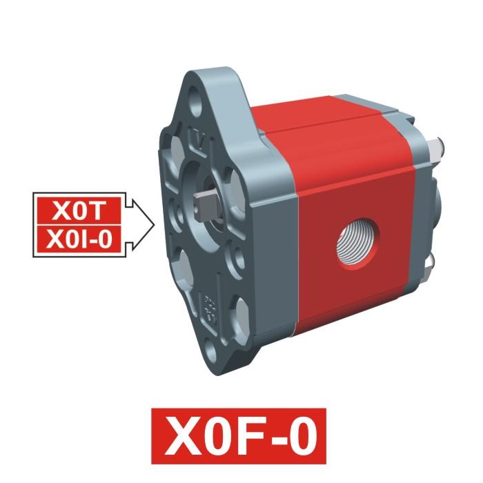 Elemento di Pompa Multipla xf001 del Gruppo 0 di Vivolo Vivoil Oleodinamica