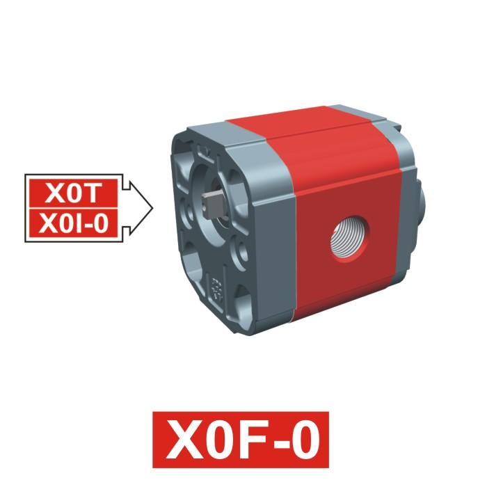 Elemento di Pompa Multipla xf002 del Gruppo 0 di Vivolo Vivoil Oleodinamica
