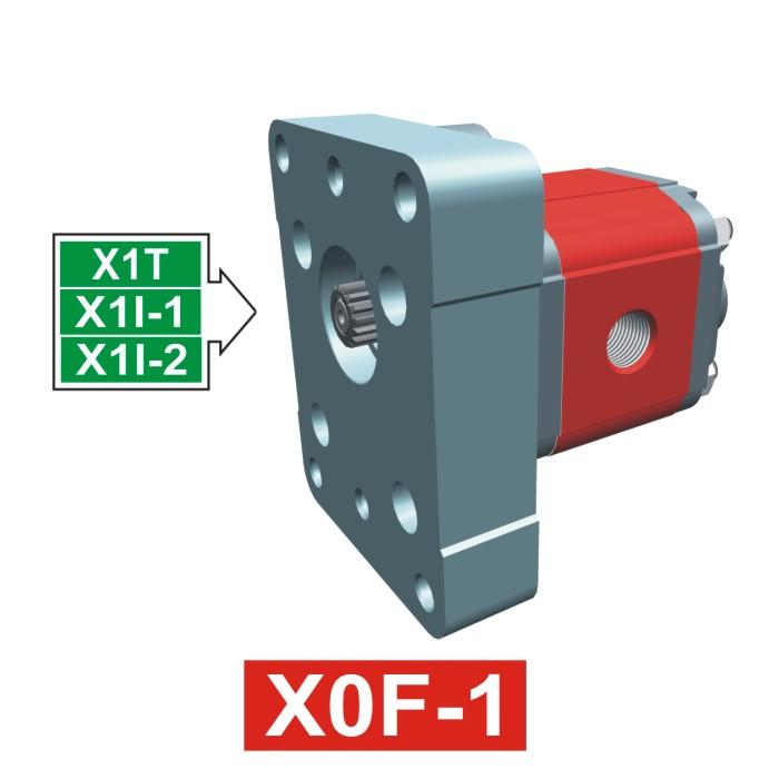 Elemento di Pompa Multipla xf003 del Gruppo 0 di Vivolo Vivoil Oleodinamica