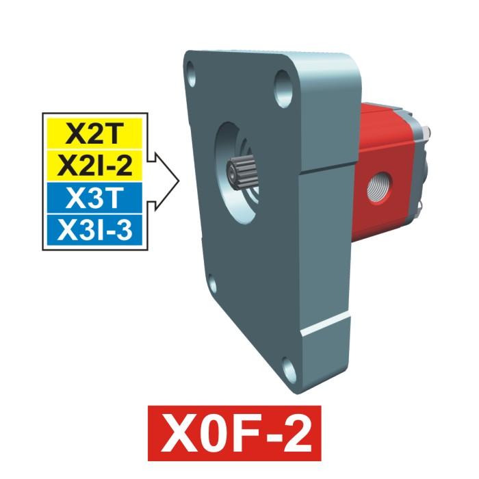 Elemento di Pompa Multipla xf004 del Gruppo 0 di Vivolo Vivoil Oleodinamica