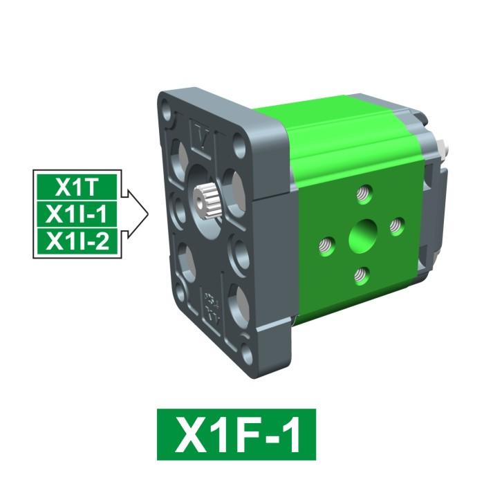 Elemento di Pompa Multipla xf101 del Gruppo 1 di Vivolo Vivoil Oleodinamica
