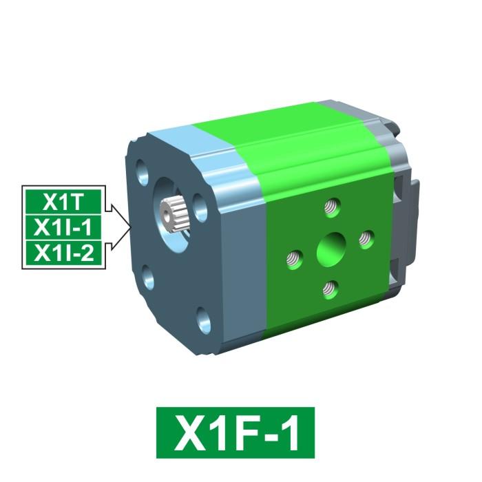 Elemento di Pompa Multipla xf102 del Gruppo 1 di Vivolo Vivoil Oleodinamica