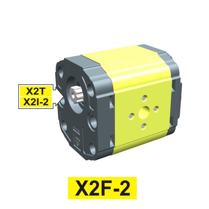 Elemento di Pompa Multipla xf202 del Gruppo 2 di Vivolo Vivoil Oleodinamica