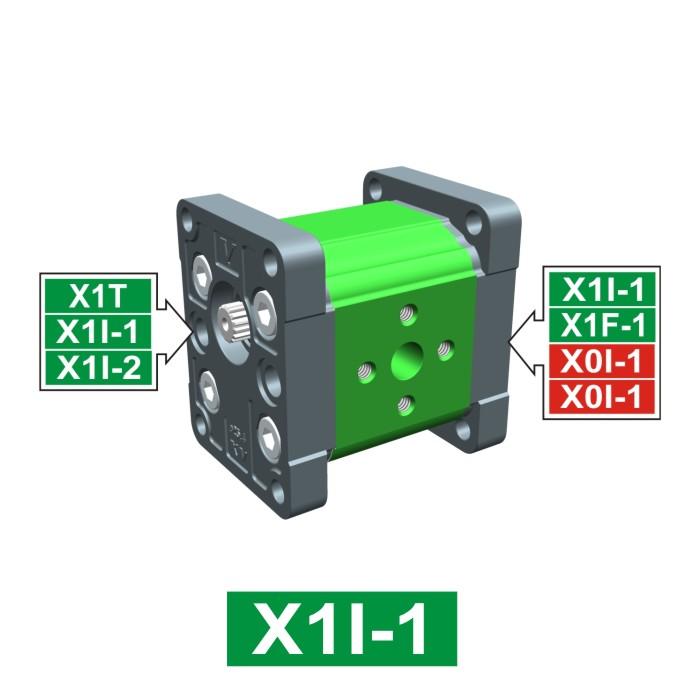 Elemento di Pompa Multipla xi101 del Gruppo 1 di Vivolo Vivoil Oleodinamica