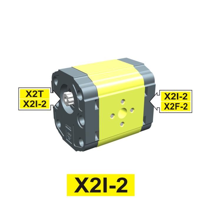 Elemento di Pompa Multipla xi202 del Gruppo 2 di Vivolo Vivoil Oleodinamica