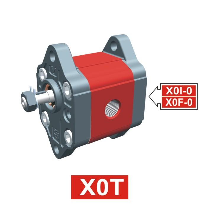 Elemento di Pompa Multipla xt001 del Gruppo 0 di Vivolo Vivoil Oleodinamica