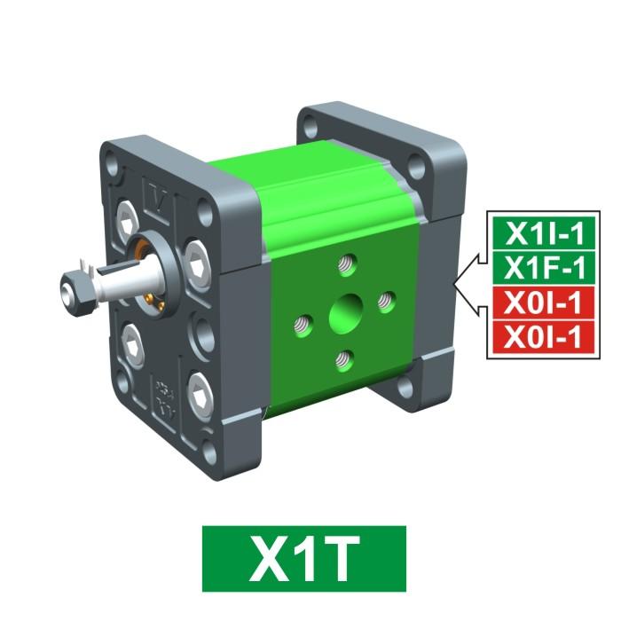 Elemento di Pompa Multipla xt101 del Gruppo 1 di Vivolo Vivoil Oleodinamica