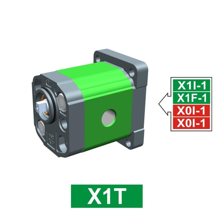 Elemento di Pompa Multipla xt140 del Gruppo 1 di Vivolo Vivoil Oleodinamica