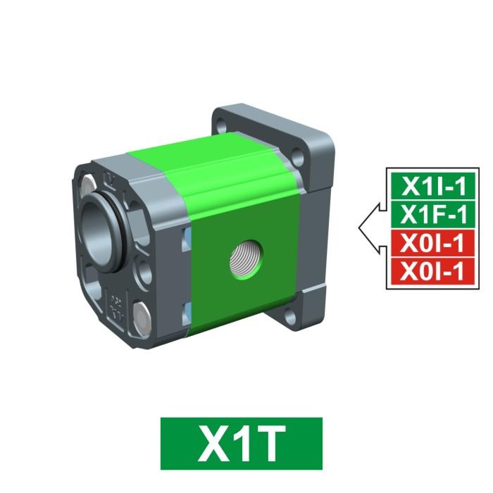 Elemento di Pompa Multipla xt161 del Gruppo 1 di Vivolo Vivoil Oleodinamica