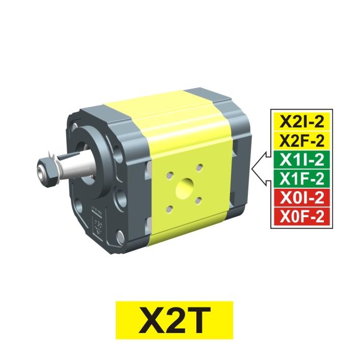 Elemento di Pompa Multipla xt210 del Gruppo 2 di Vivolo Vivoil Oleodinamica
