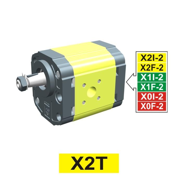 Elemento di Pompa Multipla xt213 del Gruppo 2 di Vivolo Vivoil Oleodinamica