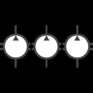 Elementi di pompe multiple