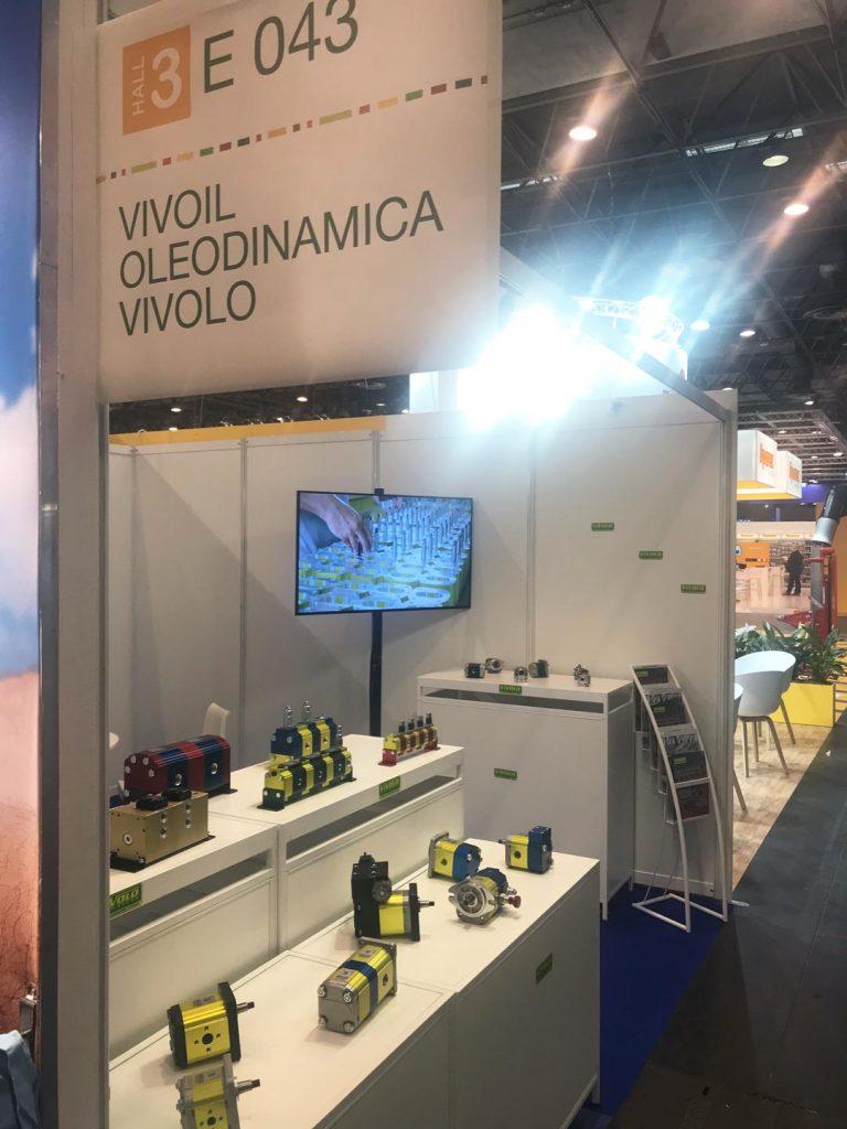 I prodotti Vivoil in mostra alla SIMA 2019 a Parigi
