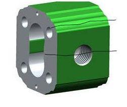 Rottura lineare pompa idraulica