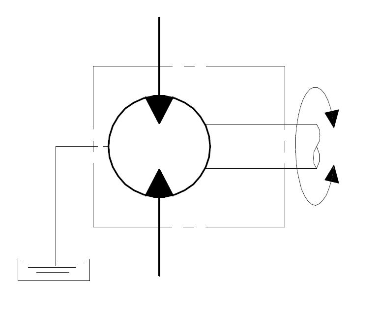 Drenaggio esterno per motori unidirezionali schema