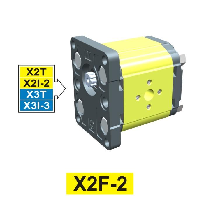 Elemento di Pompa Multipla xf201 del Gruppo 2 di Vivolo Vivoil Oleodinamica