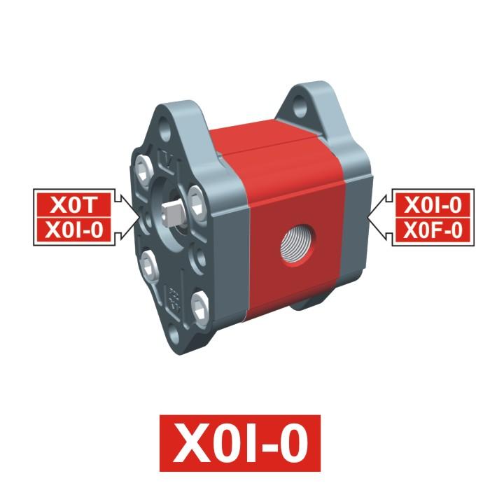 Elemento di Pompa Multipla xi001 del Gruppo 0 di Vivolo Vivoil Oleodinamica