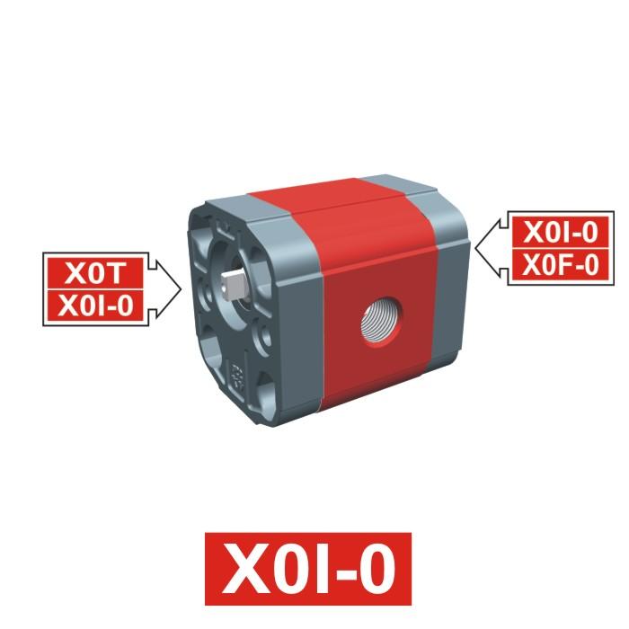Elemento di Pompa Multipla xi002 del Gruppo 0 di Vivolo Vivoil Oleodinamica