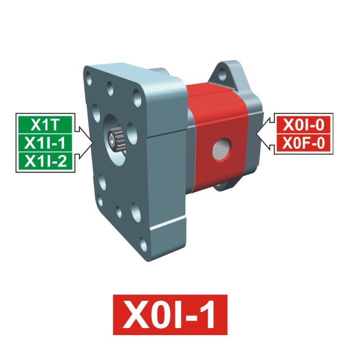 Elemento di Pompa Multipla xi003 del Gruppo 0 di Vivolo Vivoil Oleodinamica