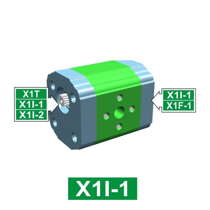 Elemento di Pompa Multipla xi102 del Gruppo 1 di Vivolo Vivoil Oleodinamica