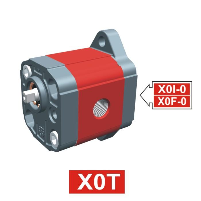 Elemento di Pompa Multipla XT012 del Gruppo 0 di Vivolo Vivoil Oleodinamica