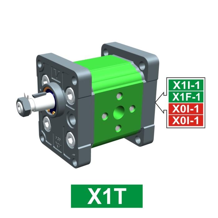Elemento di Pompa Multipla xt113 del Gruppo 1 di Vivolo Vivoil Oleodinamica