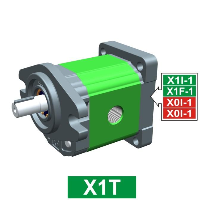 Elemento di Pompa Multipla xt168 del Gruppo 1 di Vivolo Vivoil Oleodinamica