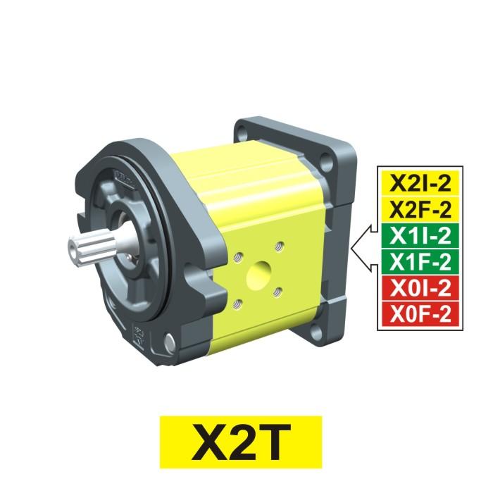 Elemento di Pompa Multipla xt219 del Gruppo 2 di Vivolo Vivoil Oleodinamica