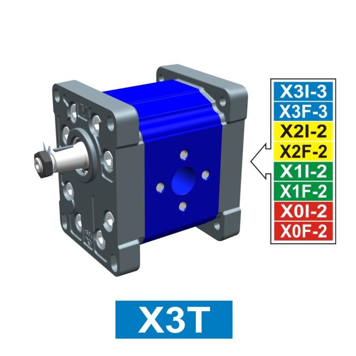 Elemento di Pompa Multipla xt301 del Gruppo 3 di Vivolo Vivoil Oleodinamica