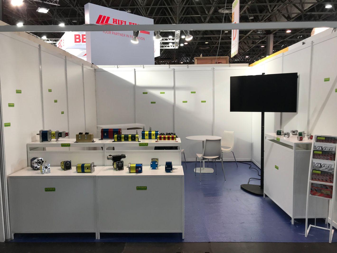 Vivoil Oleodinamica Vivolo at the Fair: Our Production Program at SIMA 2019 in Paris
